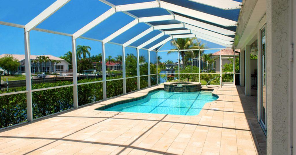 pool cage design by Aluminum Master LLC